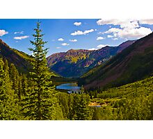 Mountains, Lakes, and Trees Photographic Print