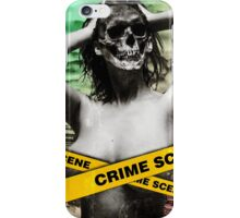 zombie dead funny girl blonde bikini summer wedding party sexy white skull halloween scary monster alien iPhone Case/Skin