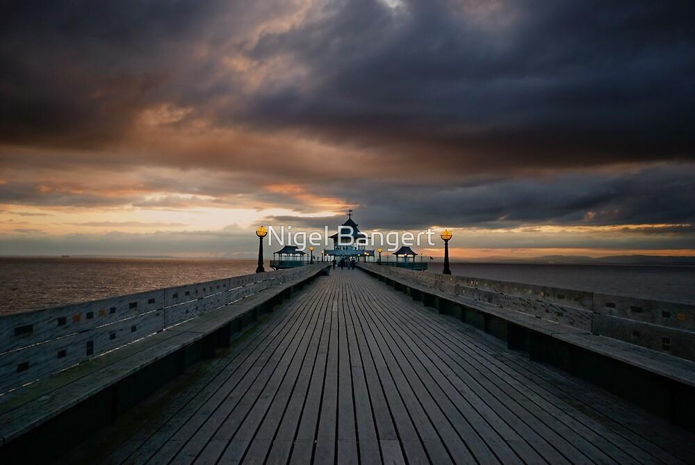 Sunset Pier by Nigel Bangert