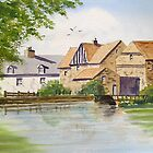 Flatford Mill by katymckay