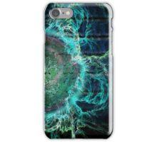 ©DA Magnetic Fields Energy I iPhone Case/Skin