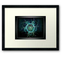 ©DA Magnetic Fields Energy I Framed Print