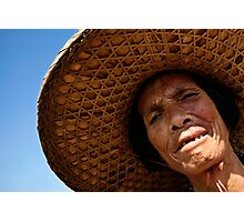 Portrait of a Chinese Woman Photographic Print