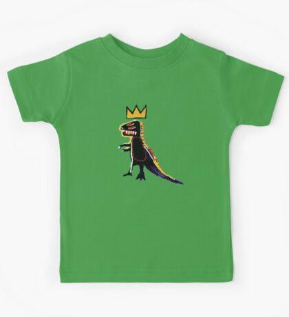 Basquiat Dinosaur Kids Tee