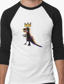 Basquiat Dinosaur Men's Baseball ¾ T-Shirt
