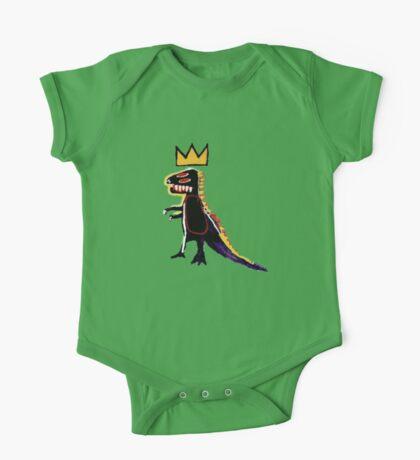 Basquiat Dinosaur One Piece - Short Sleeve