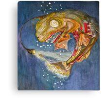 Ocean Depths.. Canvas Print