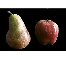 Apple and Pear Photographic Print