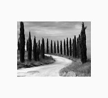 Cypress Trees, Sienna, Italy Unisex T-Shirt