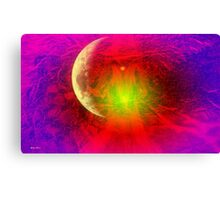 Invisible  abstract art + Product Design Canvas Print