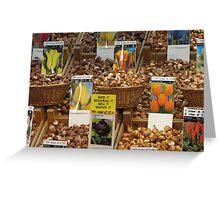 flower seeds Greeting Card