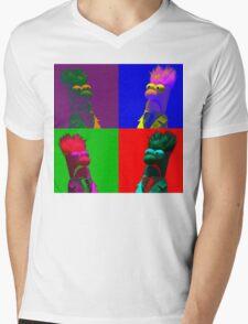 Beaker Pop Mens V-Neck T-Shirt