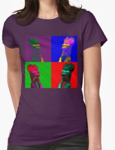 Beaker Pop Womens Fitted T-Shirt