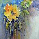Golden Hibiscus by bevmorgan