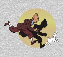 Tintin and Snowy Baby Tee