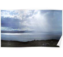 Summer Rain, Loch Ewe Poster