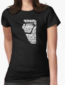 Shelves of Strange Books Womens Fitted T-Shirt