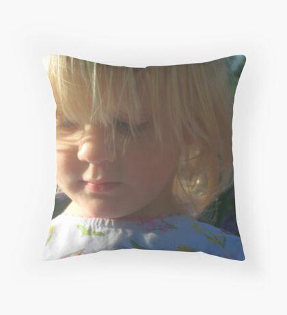 Lucia del sol Throw Pillow