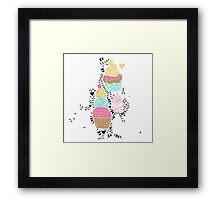 Sugar and Sice Framed Print