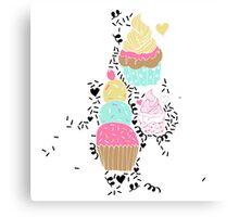 Sugar and Sice Canvas Print