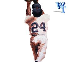 Willie Mays by ABaroneWT