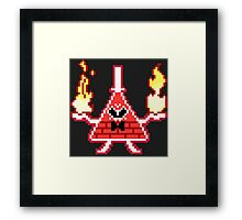 Bill Cipher Mad Framed Print