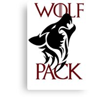 wolf pack new 2 Canvas Print