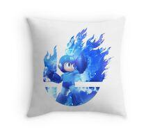 Smash Megaman Throw Pillow