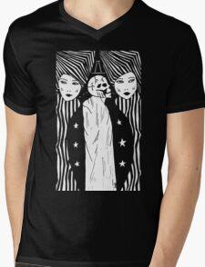 GEMINI T-Shirt by Allie Hartley  Mens V-Neck T-Shirt