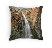 """First Falls, Morialta, SA"" Throw Pillow"