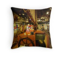 South Australian Maritime Museum Throw Pillow