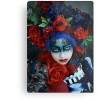 Geisha II Metal Print