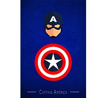 The Soldier - Captain America  Photographic Print