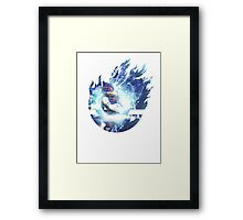 Smash Falco Framed Print