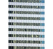 LA reflection 3 (octopus leg like windows) Photographic Print