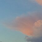 3rd of yesterday's evening cumulus cloud unfolding by Nadia Korths