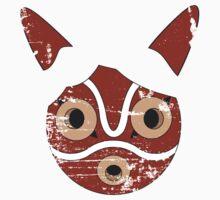 Mononoke Hime Mask Kids Tee