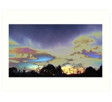 A New Mexico Stormy Night Art Print