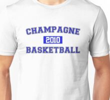 Champagne Basketball Athletic College Style 1 White Unisex T-Shirt