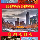 Downtown Omaha Nebraska by Tim Wright