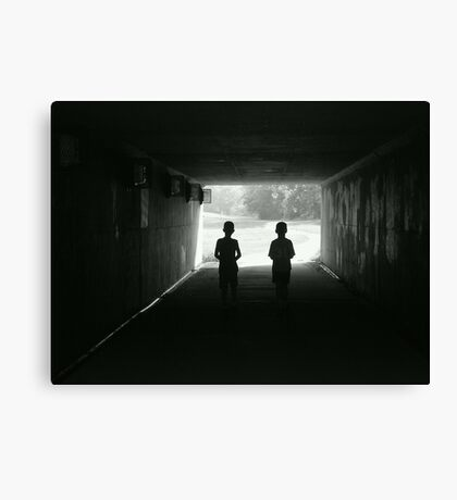 Summers End Canvas Print