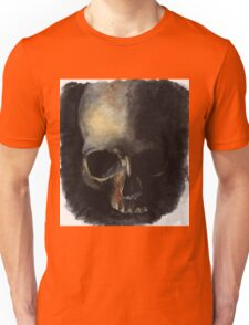 Skull Painting Watercolor Unisex T-Shirt