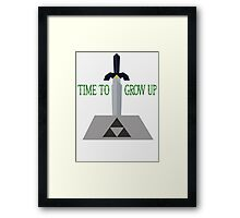 Time to Grow Up Framed Print