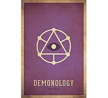Demonology Warlock - WoW Minimalism Photographic Print
