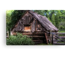 Weathered Shed Canvas Print