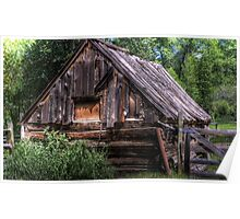 Weathered Shed Poster