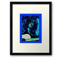 THOSE DEVIL BLUES Framed Print