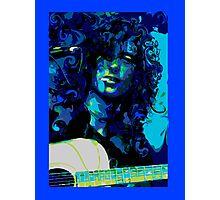 THOSE DEVIL BLUES Photographic Print