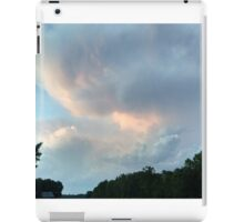 First from last night's sunset - a cumulus study iPad Case/Skin