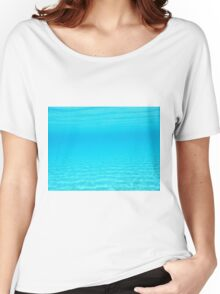 Underwater view in Lipsi Greek Island Women's Relaxed Fit T-Shirt